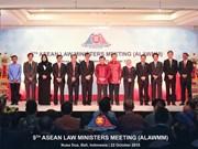 ASEAN : Ouverture de la 9e Conférence des ministres de la Justice