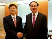 Le ministre vietnamien de la Sécurité publique poursuit ses activités en Chine
