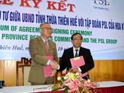 Le groupe américain PSL investira dans plusieurs projets à Huê