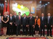 Vietnam-République tchèque : jumelage entre les villes de Bac Ninh et Cheb