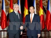Le président du Sénat tchèque termine sa visite au Vietnam