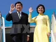 Le président Truong Tân Sang effectue une visite d'Etat en Allemagne