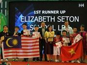 Concours Robothon 2015 : le Vietnam remporte deux des six Premier prix