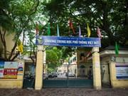 Echange entre deux lycées vietnamien et japonais
