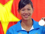 Nguyen Thi Anh Vien dans la liste de 5 meilleurs nageurs d'Asie