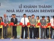 Inauguration d'une brasserie à Hâu Giang