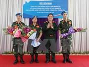 Le Vietnam participe activement aux activités de maintien de la paix de l'ONU