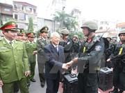 Le chef du PCV travaille avec le commandement de la police mobile