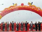 Nam Dinh: Inauguration d'un pont financé par le Japon
