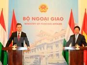 Le Vietnam et la Hongrie s'engagent à renforcer la coopération mutiforme
