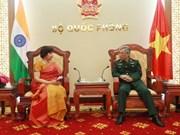 L'ambassadeur d'Inde reçu par un vice-ministre de la Défense