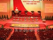 Ouverture du 12e Congrès national du PCV