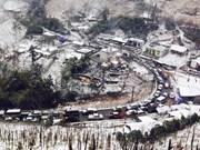 La neige et le verglas font leur apparition dans plusieurs provinces du Nord