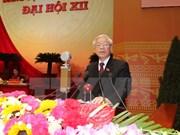 Félicitations au chef du Parti communiste du Vietnam