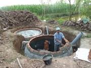 Prolongation d'un programme de biogaz pour le secteur de l'élevage
