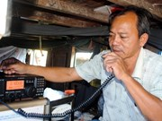 Cà Mau offre 63 dispositifs d'information et de communication aux pêcheurs