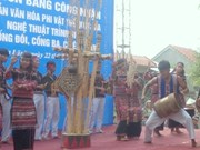 Phu Yên: Orchestre des «deux tambours, trois gongs et cinq cymbales»