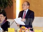 Réunion du Conseil électoral national pour les élections à l'AN et aux conseils populaires