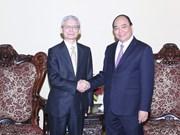 Le vice-PM Nguyen Xuan Phuc plaide pour les liens Vietnam-Japon