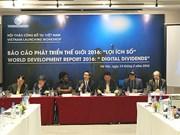 Rapport sur le développement dans le monde 2016: les dividendes du numérique