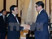 Le chef de l'Etat reçoit l'ambassadeur singapourien