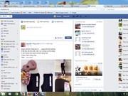 Plus d'un Vietnamien sur trois se connecte à Facebook