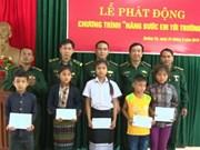 Programme philanthropique en faveur des enfants des zones frontalières Vietnam - Laos