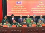 Vietnam et Laos coopèrent dans la lutte transfrontalière contre la drogue