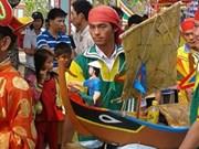 Ly Son: Culte à la mémoire des soldats en mission à Hoàng Sa