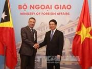 Renforcement de la coopération multiforme entre Vietnam et Timor-Leste