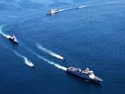 Exercice naval multilatéral Komodo 2016 en Indonésie