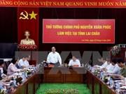 Le Premier ministre Nguyen Xuan Phuc en tournée à Lai Chau