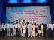 Bilan du 5e Congrès franco-vietnamien de l'Amphore à Nha Trang