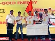 Les Vietnamiens en trombe au Shell Eco-marathon Asie 2016