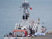 Le navire 381 du Vietnam va participer à un exercice dans le cadre de l'ADMM+