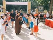 Inauguration de la 50e école investie par VCF