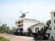 Exercice ADMM+ : simulation d'attaque terroriste à Singapour