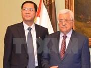 Vietnam et Palestine soutiennent le règlement pacifique des différends