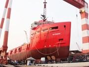 Le Vietnam met à flot son pétrolier le plus moderne