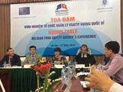 La Belgique partage son expérience dans la sécurité alimentaire avec le Vietnam