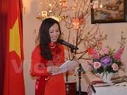 Célébration du 126ème anniversaire du président Ho Chi Minh au Canada et en R. tchèque