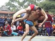 La lutte, toujours aussi populaire à Hanoi