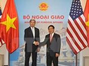 Entretien entre Pham Binh Minh et John Kerry