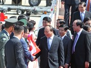 Le Premier ministre Nguyên Xuân Phuc arrive à Nagoya