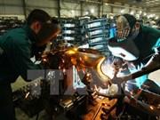 L'indice de production industrielle en hausse de 7,5% en mai