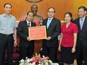 Aide laotienne pour la lutte contre la sécheresse et la salinisation
