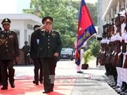 Le ministre vietnamien de la Défense en visite de travail au Cambodge