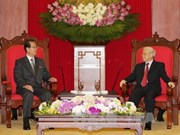 Une délégation du Parti du Travail de Corée au Vietnam