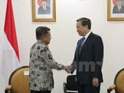 Le ministre de la Sécurité publique Tô Lâm en visite en Indonésie