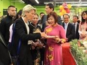 Succès de la semaine des produits vietnamiens à Lyon (France)